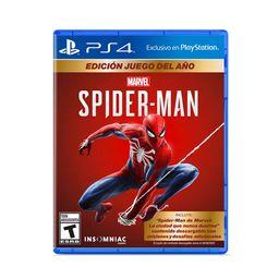 Ps4 Jgo Spiderman Goty Ed - Latam Ps4