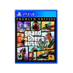 Ps4 Jgo Grand Theft Auto V Premium Edition