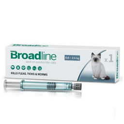 Broadline Gato Pequeño Hasta 2.5Kg X1Pipeta