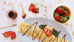 Crepe Crema de Avellanas y Frutas