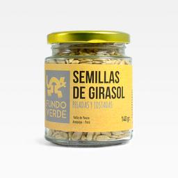 Fundo Verde Semillas de Girasol Peladas Tostadas