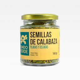 Fundo Verde Semillas de Calabaza