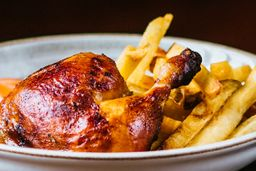 Pollo Oriental y Chicha