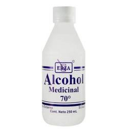 Alcohol Medicinal 70° 250 Ml Erza