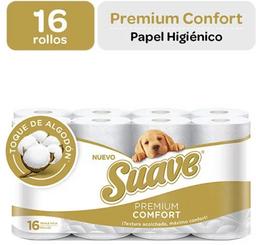 Papel Higienico Suave Premium Comfort X16