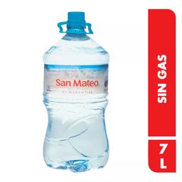 Bidon De Agua San Mateo X 7 Lt