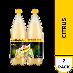 Schweppes Bebida Gaseosa Citrus X 2und