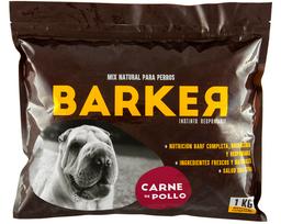 Barker Pollo (1kg) - 20 hamburguesas