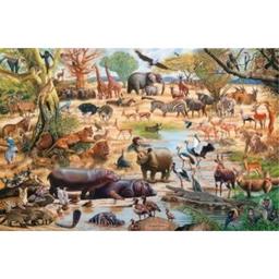 Rompecabeza 1500 -  African Paradise