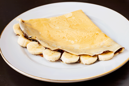Crepe Fudge con Plátano