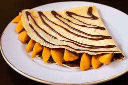 Crepe Nutella con Durazno
