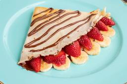 Crepe Nutella con Fresa y Plátano