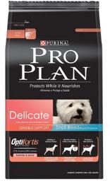 Proplan Delicate Dog Small Breed Raza Pequeña Perro Sensible