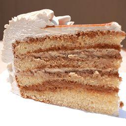 Porción de Torta Capuchino