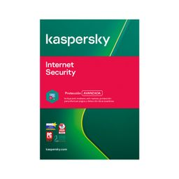Kaspersky Antivirus Internet Security 1 Dispositivo 1 Año