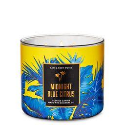 Vela 3 Mechas Midnight Blue Citrus