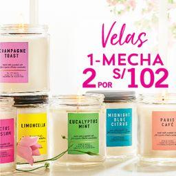 2 x  S/. 102 Vela 1 Mecha