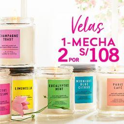 2 x  S/. 108 Vela 1 Mecha