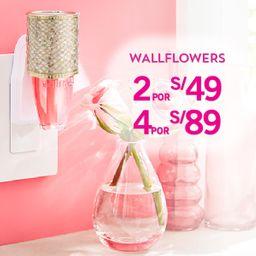 4 x S/.89 Fragancia Wallflowers