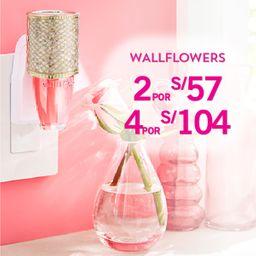 4 x S/.104 Fragancia Wallflowers