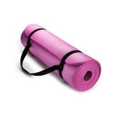 Mat De Yoga 10 Mm Rosado