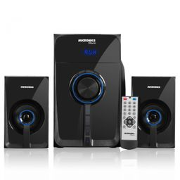 Sistema De Audio Pascal Mic S7016B Bt Fm Sd+Usb Rc Micronics