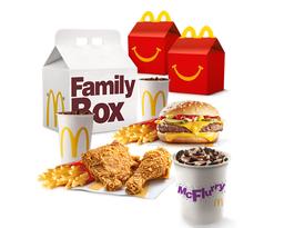 PROMO Family Box Feliz + XXL Oreo GRATIS