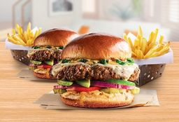 2x1 Alex´s Santa Fe Burger