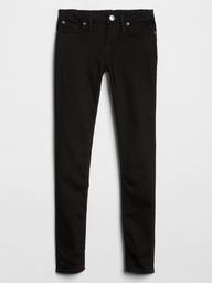 Jeans Skinny Negro Niña