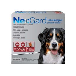 Nexgard Antipulgas Para Perro de 25.1 a 50 Kg