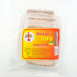 Milanesa De Tofu Empanizada Vegana En Bolsa