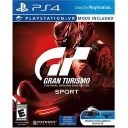 Ps4 Juego Gran Turismo Sport .
