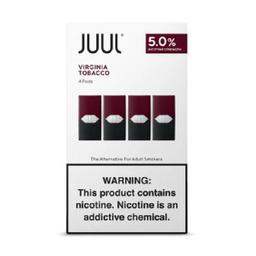 JUUL | Virginia Tobacco | 4-Pack | 5% NIC