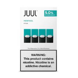 JUUL | Menthol | 4-Pack | 5% NIC