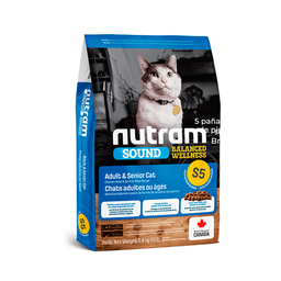 Nutram Alimento Seco S5 - Adult y Senior Cat
