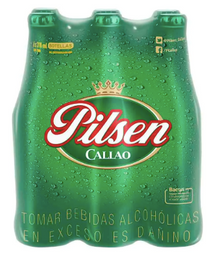 Six Pack Cerveza Pilsen Bot 310 Ml