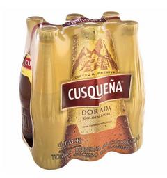 Six Pack Cerveza Cusqueña Bot 330 Ml