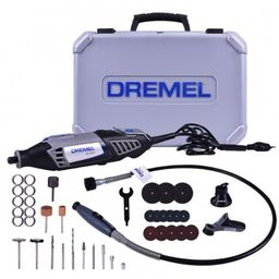 Minitorno Dremel 4000 Kit 36 Accesorios + 3 Aditamentos
