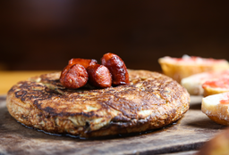 Tortilla Española de Txistorra.