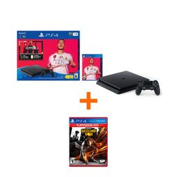 Ps4 Hw 1Tb Fifa 20 Bundle + Infamous: Second Son-Hits -Latam Ps4
