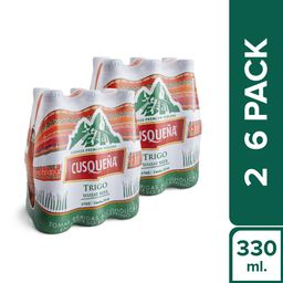 Cusqueña Six Pack Trigo Botella 330Ml 2X