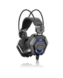 Kit Gamer Micronics Auricular Luz Led + Teclado Mecánico
