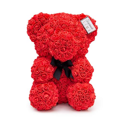 Teddy Roses 30Cm Rojo