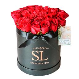 Box Full Roses Rojo