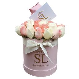 Box Full Roses Palo Rosa