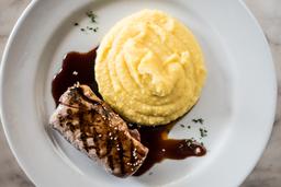 Steak de Atún en Salsa Teriyaki
