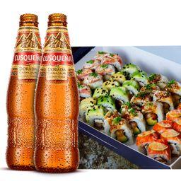 Shizen II y 2 Cervezas