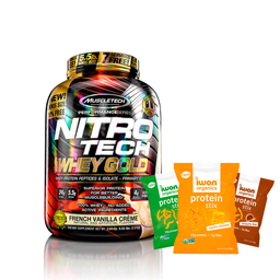 Nitrotech Whey Gold 5.5 + 3 Stix