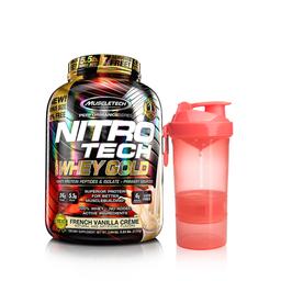 Nitrotech Whey Gold 5.5 + Shaker Smart 2GO/SLIM