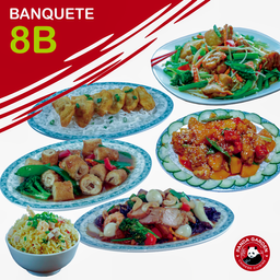 Banquetes 8 Personas – 8B